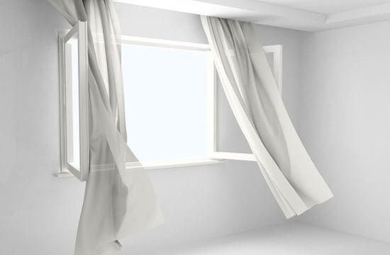 Parametry okien - szczelność