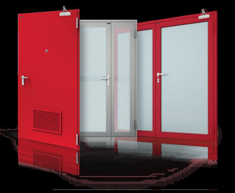 drzwi przeciwpożarowe Kraków - Zabezpiecz się przed ogniem