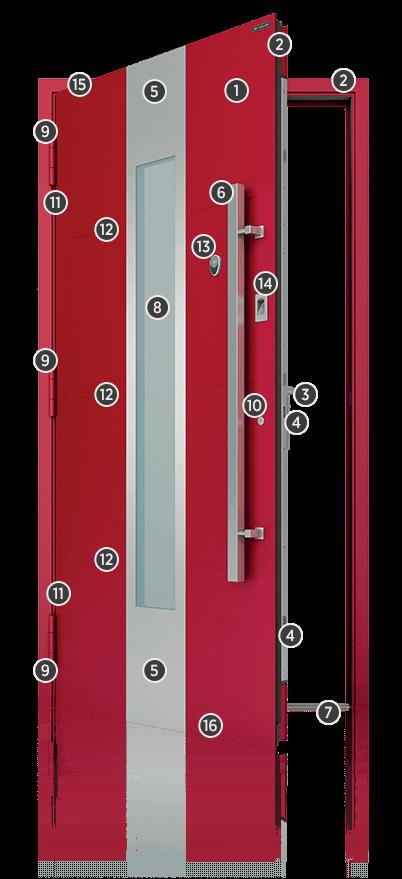 Drzwi aluminiowe zewnętrzne Małopolska najwyższej jakości
