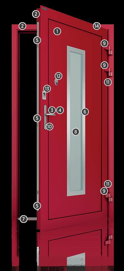 Montaż drzwi aluminiowe zewnętrzne Kraków - Poczuj klasę premium