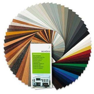 Okna PCV z krakowa kolory - cała gama kolorów