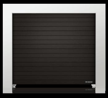 Piękne czarne bramy garażowe Kraków