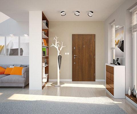 Drzwi wejściowe Skawina do mieszkania