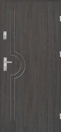 Drzwi wejściowe Kęty do mieszkania