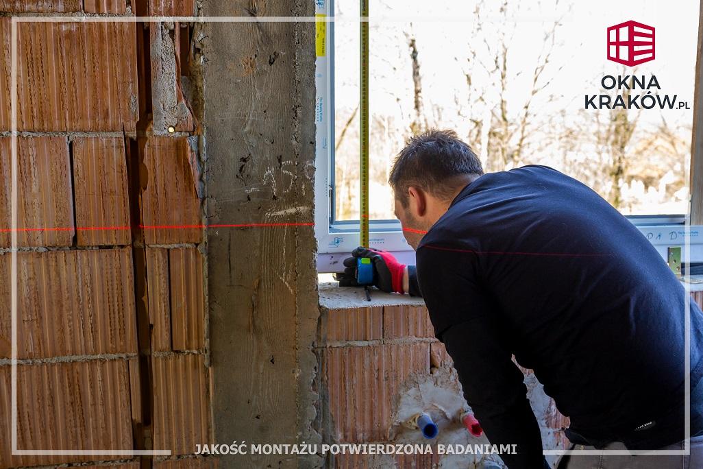 Montaż okien Kraków - fachowe i profesjonalne wymierzenie to podstawa!