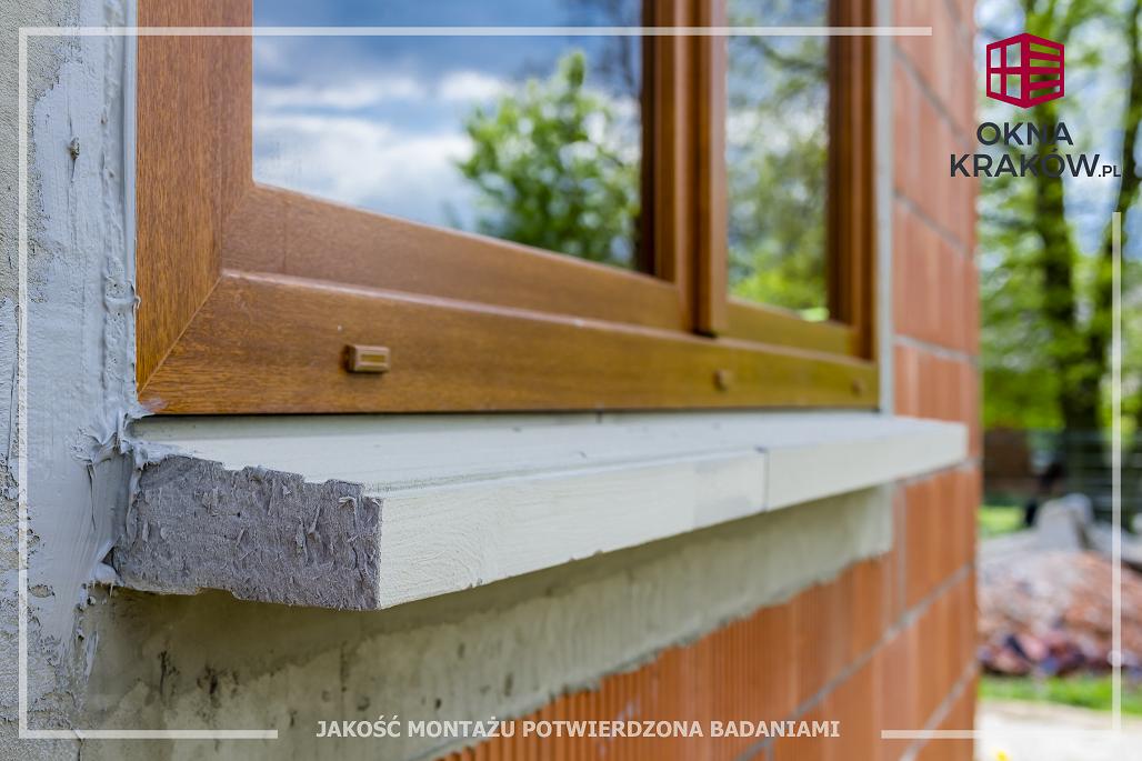 Ciepły montaż okien Kraków - Prawidłowy i profesjonalny montaż okien z trójwarstwowym uszczelnieniem i ciepłymi parapetami