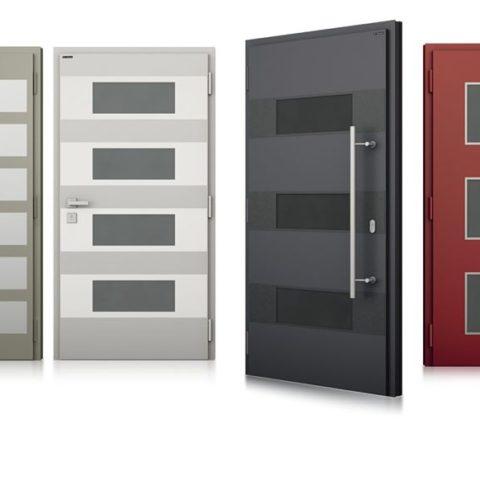 Drzwi aluminiowe Andrychów
