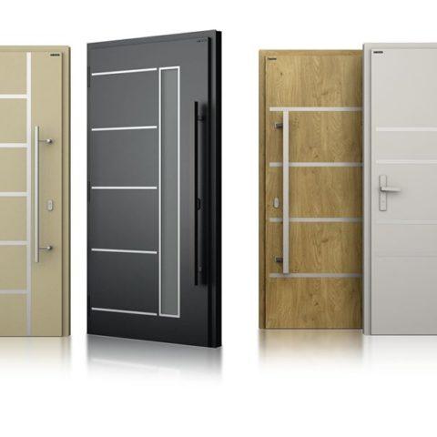 Drzwi aluminiowe Trzebinia