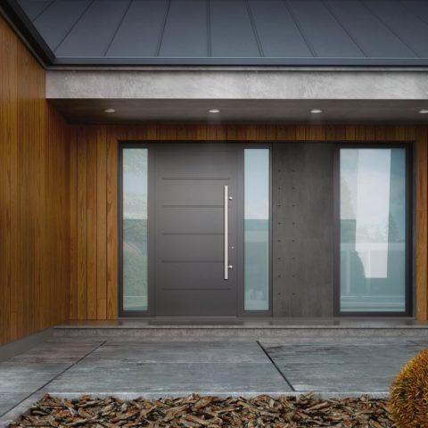 Drzwi aluminiowe Zakopane